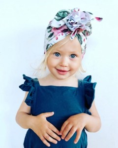 Looks by Luks turban flower power 6-18msc Swimming