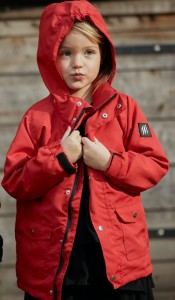OutWeGo  Parka Sofshell RED 80-86