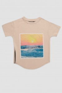 Minikid 122-128 THE SUNSET T-SHIRT koszulka